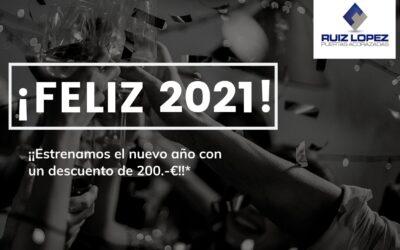 Ruiz López le ayuda a empezar el año con un descuento de lujo